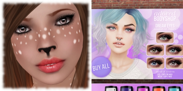 #adored_Cosmetics Fair April 2014_Dream - Mushroom Eyes
